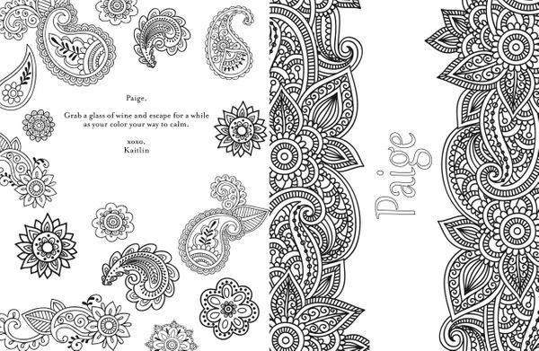 You Can Get A Personalized Adult Coloring Book, Because ...