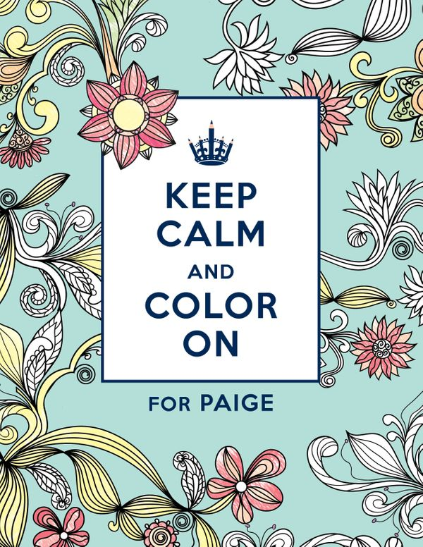 You Can Get A Personalized Adult Coloring Book, Because Why Not ...