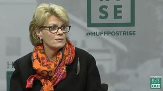 Bank of America Vice Chairman Anne Finucane at Davos in 2016.