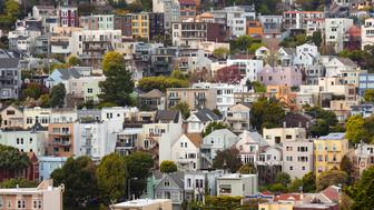 Twin Peaks Neighborhood, San Francisco, California, USA