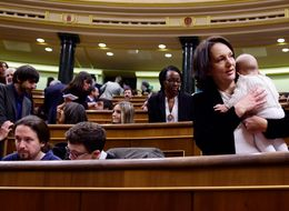 This Spanish Politician Took Her Baby To  Parliament.  She's Not The Only One.