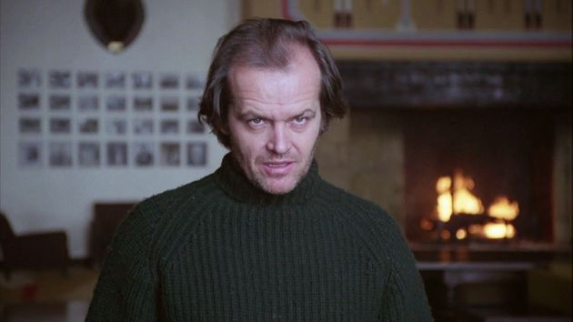 Jack Nicholson does his bestEd McMahon impression.