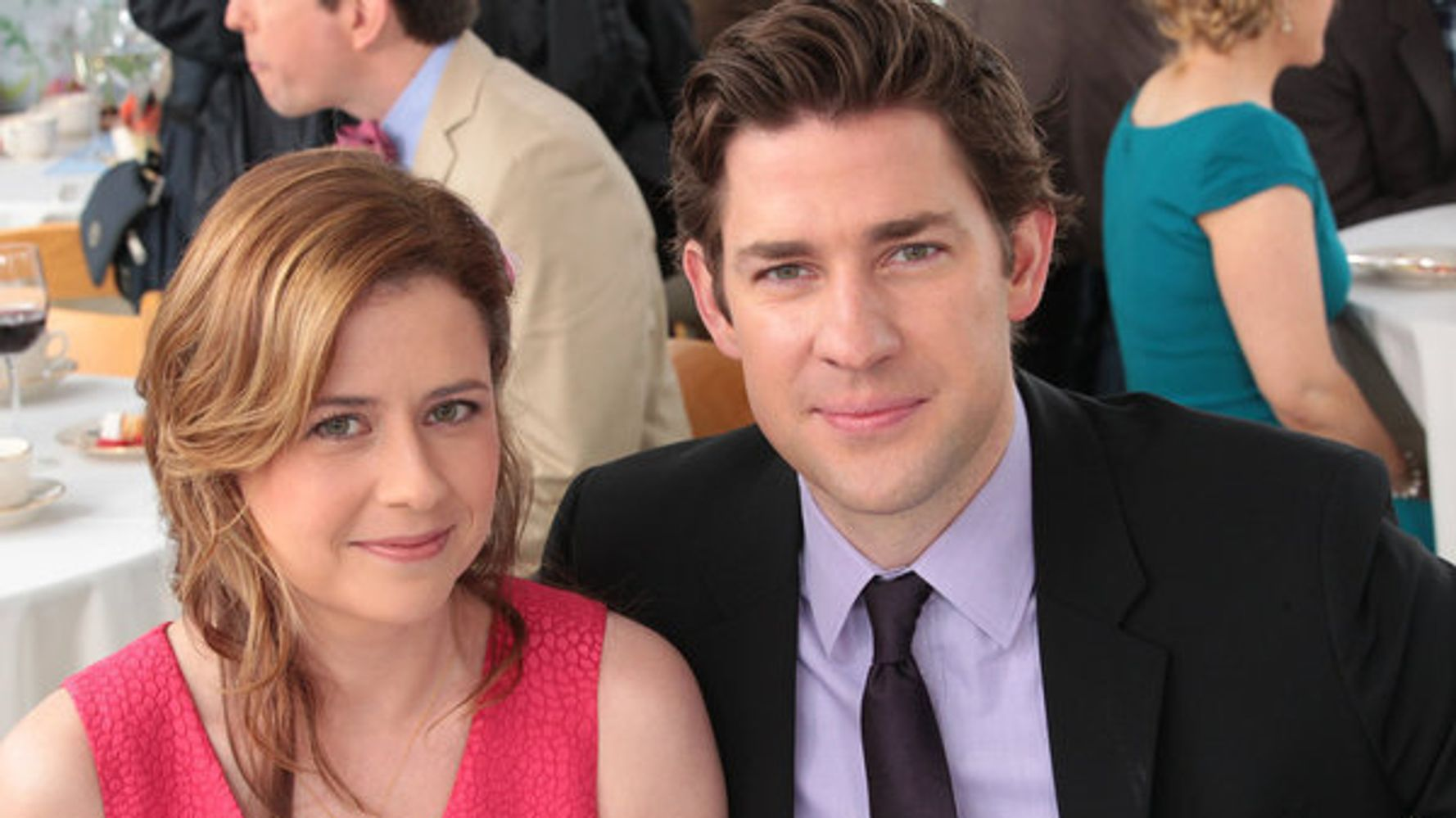 Jim And Pam Wedding.Jenna Fischer Reveals The Real Reason Why Jim And Pam Worked On The