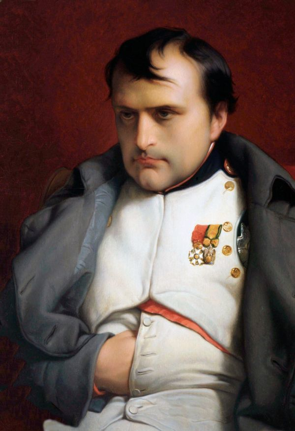 Napoleon Bonaparte, seen here in this flattering portrait, had more on his mind than where to put his bangs. This look has&nb