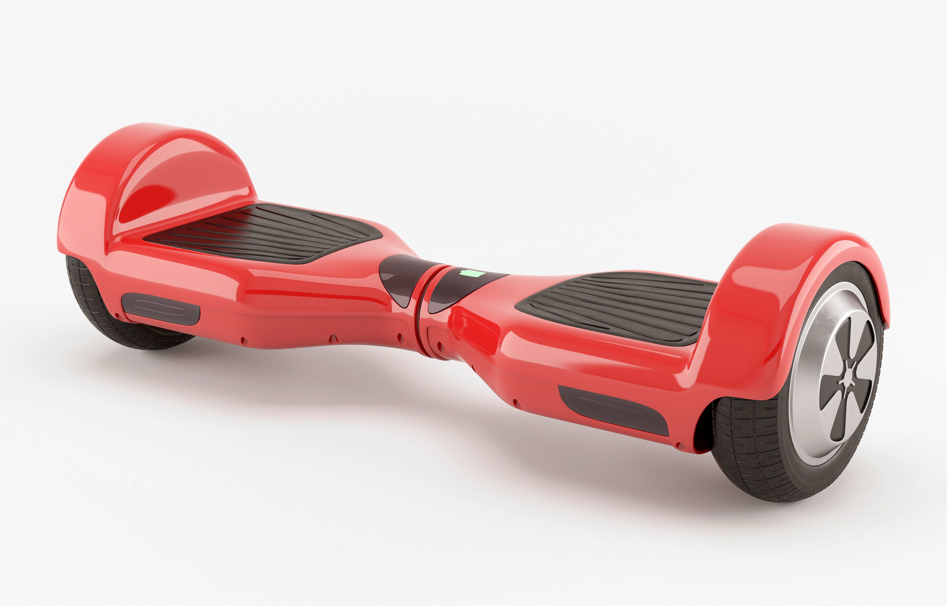 Self-Balancing two wheel electric scooter. Alternative transport.