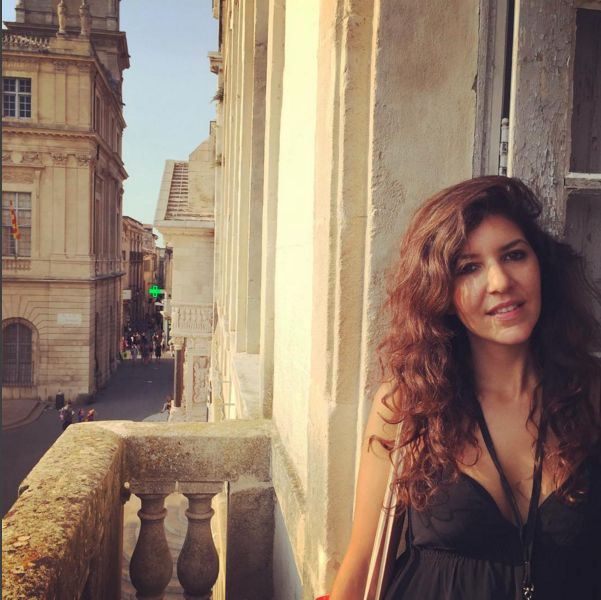 A photo of photographer Leila Alaoui, from her personal Instagram account.