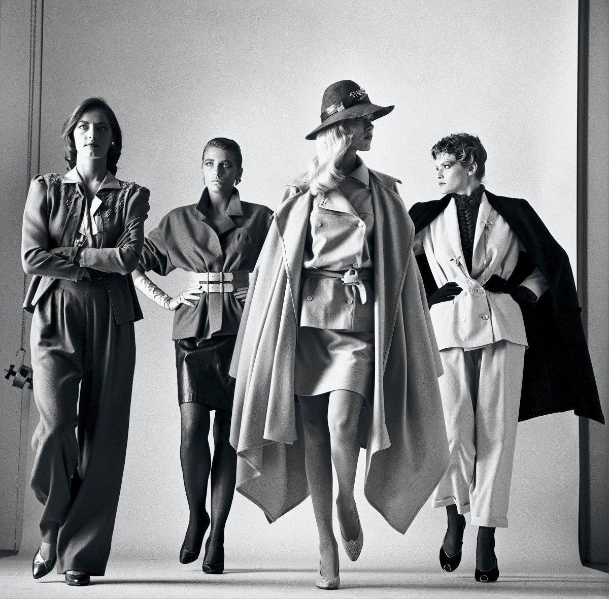 """Helmut Newton, Sie kommen, Paris 1981 from the series """"Big Nudes"""""""
