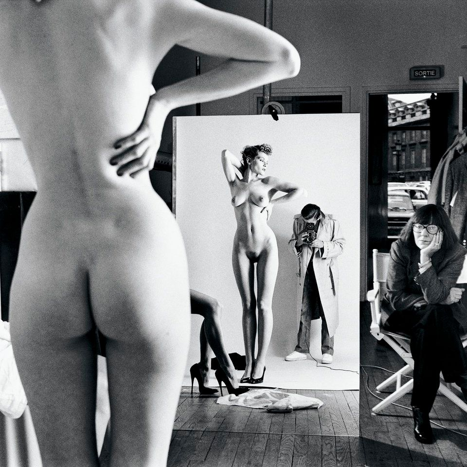 """Self Portrait with Wife and Models"""