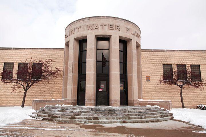 The Flint Water Plant is seenJan. 13, 2016.