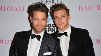 NEW YORK, NY - APRIL 24:  (L-R) Nate Berkus and Jeremiah Brent attend the 2014 Good Shepherd Services Spring Party at Stage 37 on April 24, 2014 in New York City.  (Photo by Brian Killian/WireImage)