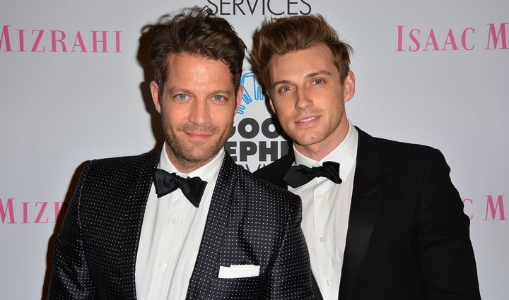 Nate Berkus credits husband Jeremiah Brent with helping him move forward in their relationship while still honoring Nate's la