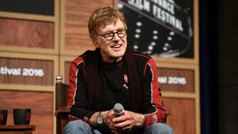 PARK CITY, UT - JANUARY 21:  Sundance Institute President Robert Redford attends the 2016 Sundance Film Festival Day One Press Conference at Egyptian Theatre on January 21, 2016 in Park City, Utah.  (Photo by George Pimentel/[Getty Images for Sundance Film Festival])