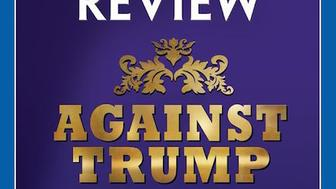 The National Review, in Trumpian gold letter, is calling on conservatives to stop the Republican frontrunner