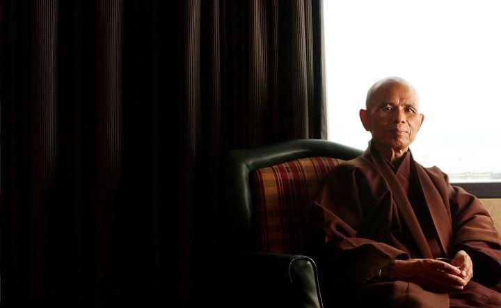 Vietnamese Buddhist monkThich Nhat Hanh.