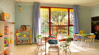 Empty kindergarten