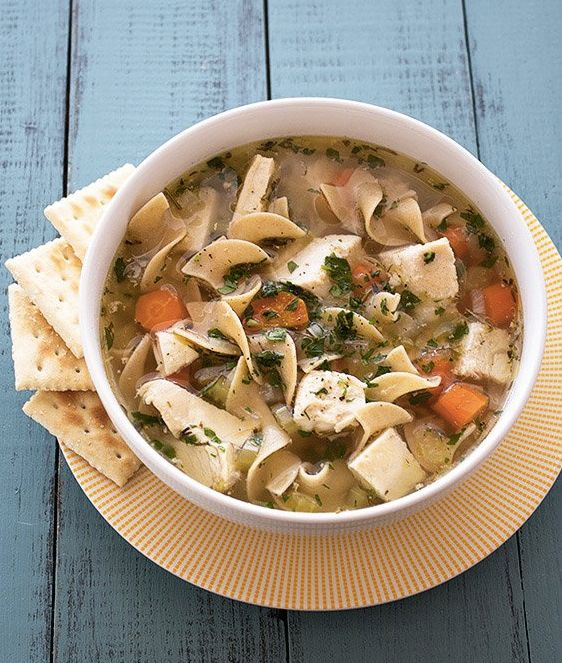 "<strong>Get the <a href=""http://www.handletheheat.com/slow-cooker-chicken-noodle-soup/"" target=""_blank"">Slow Cooker Chicken N"