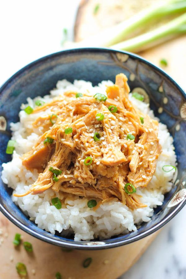 "<strong>Get the <a href=""http://damndelicious.net/2013/10/11/slow-cooker-chicken-teriyaki/"" target=""_blank"">Slow Cooker Chick"