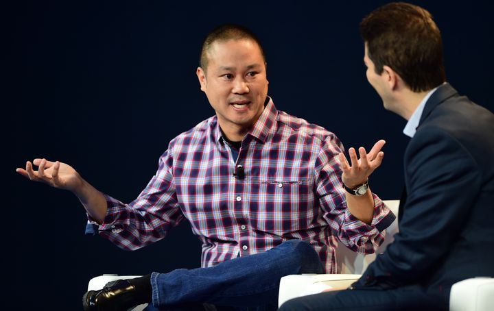 Zappos CEO Tony Hsieh does the ¯\_(ツ)_/¯.
