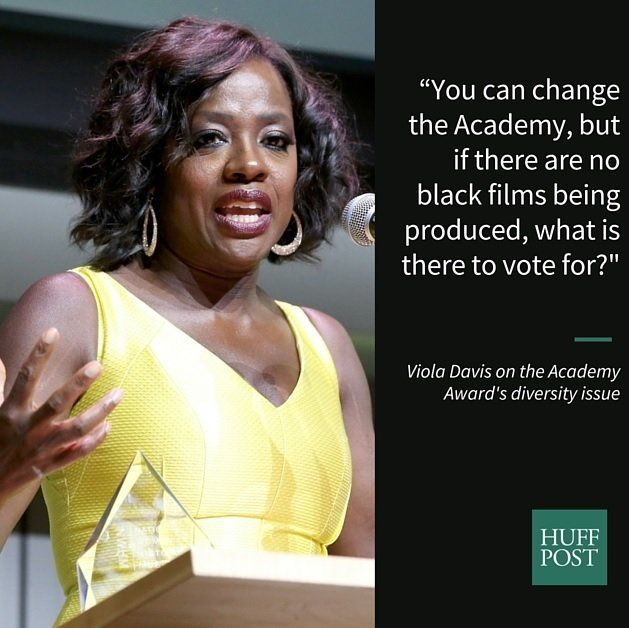 Viola Davis wants to see more action from the Motion Picture industry.