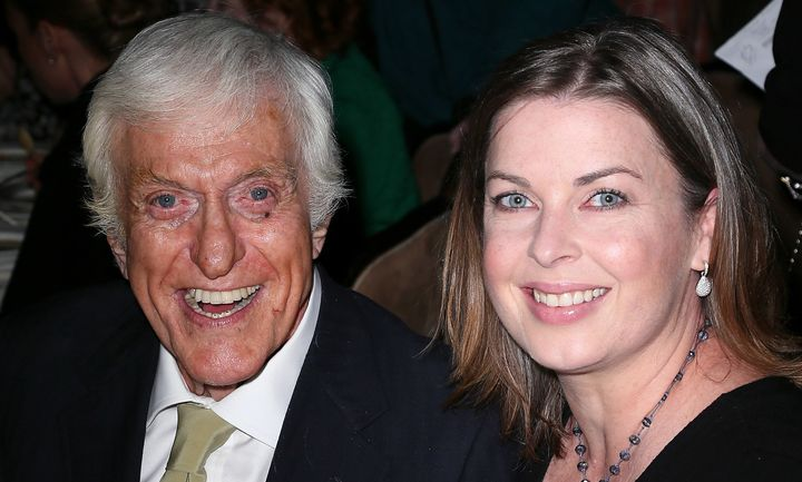 "Arelene Silver hadn't seen any of Dick Van Dyke's movies prior to their relationship, but now, ""she's a fan,"" he says."