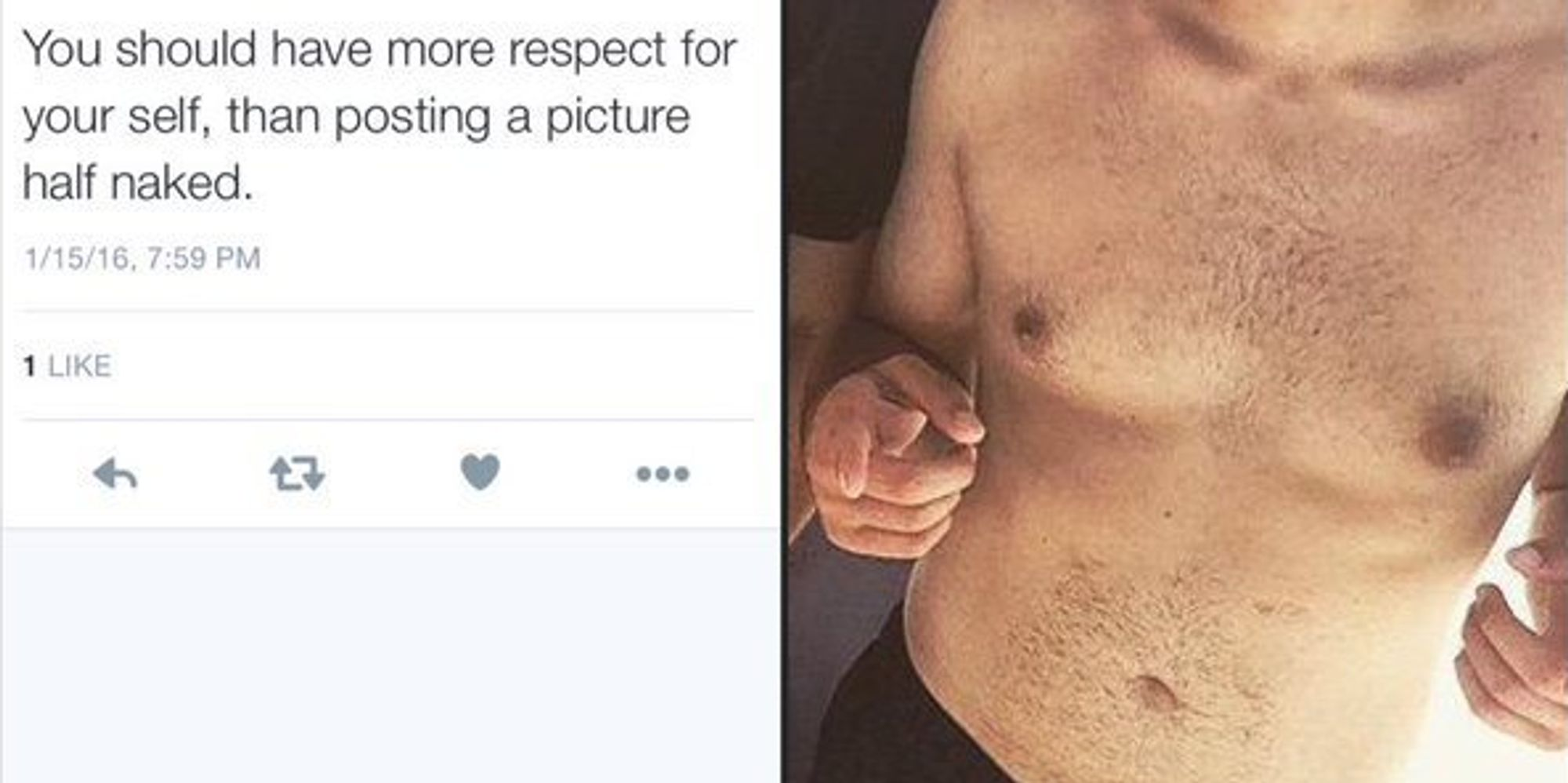 double standard nudity boys Woman Calls Out Shirtless Men Who Shame Shirtless Women | The Huffington Post