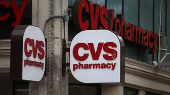 SAN FRANCISCO, CA - JUNE 15:  A sign is posted on the exterior of a CVS store on June 15, 2015 in San Francisco, California.  CVS Health announced that it has agreed to acquire Target's pharmacy and clinic businesses for an estimated $1.9 billion.  (Photo by Justin Sullivan/Getty Images)