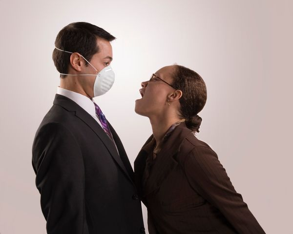 45 percent find their bad breath embarrassing at times.