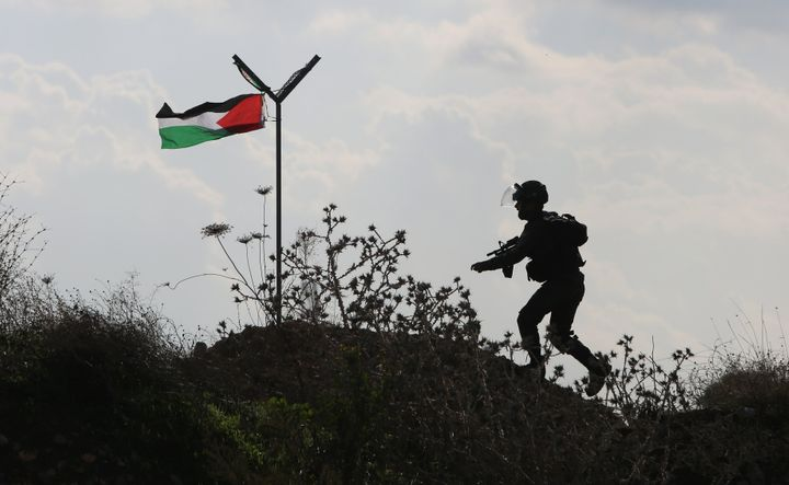 A Palestinian 13-year-old girl was shot dead on Saturday after months of heightened violence.