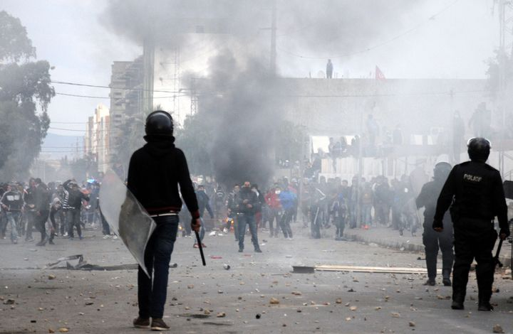 Protests erupted around Tunisia last week after a young unemployed man was electrocuted.