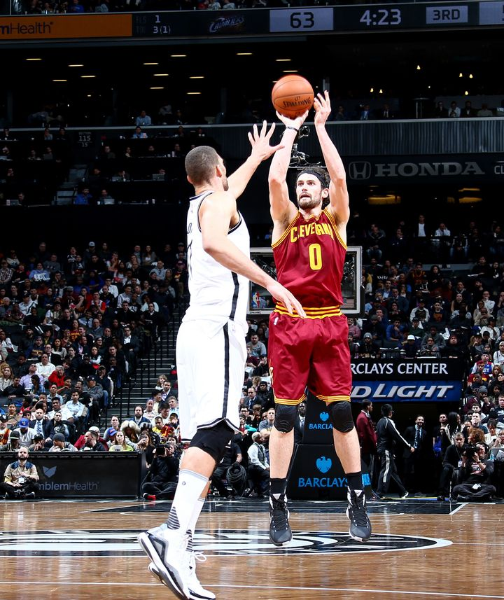 Kevin Love is converting on just 41.5 percent from the floor and 36.4 percent from the distance.