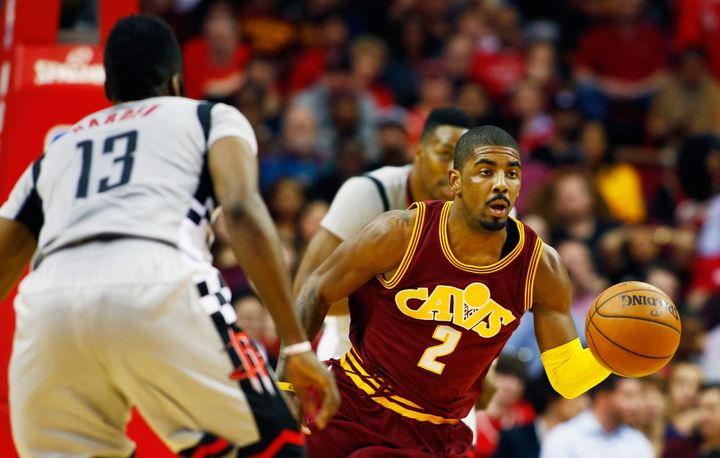 Kyrie Irving, despite earning his third consecutive trip to the All-Star game, is shooting under 29 percent from 3-point terr