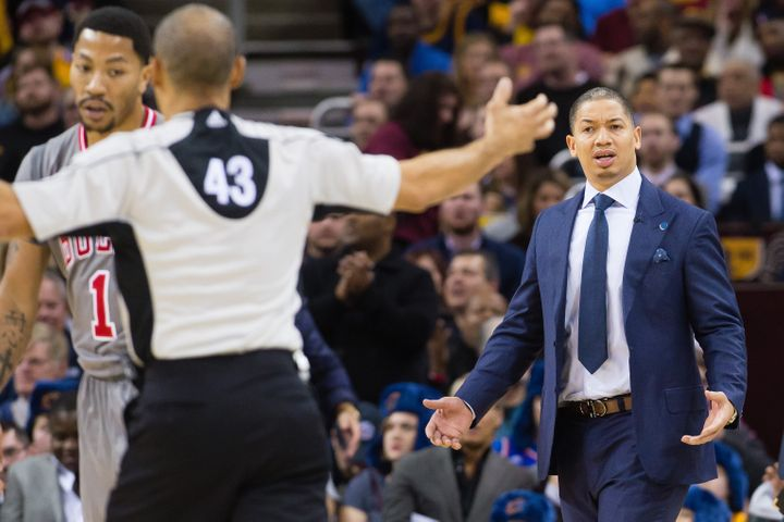 First-time Head Coach Tyronn Lue signed a three-year, $9.5 million contract with Cleveland.