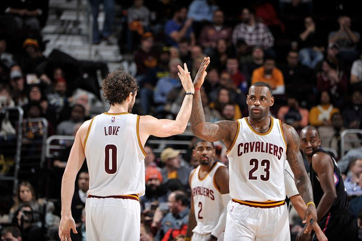 LeBron and the Cavs need a lot more from Love if they are to contend for a title.