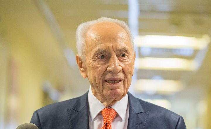 Former Israeli president Shimon Peres is in hospital once again.
