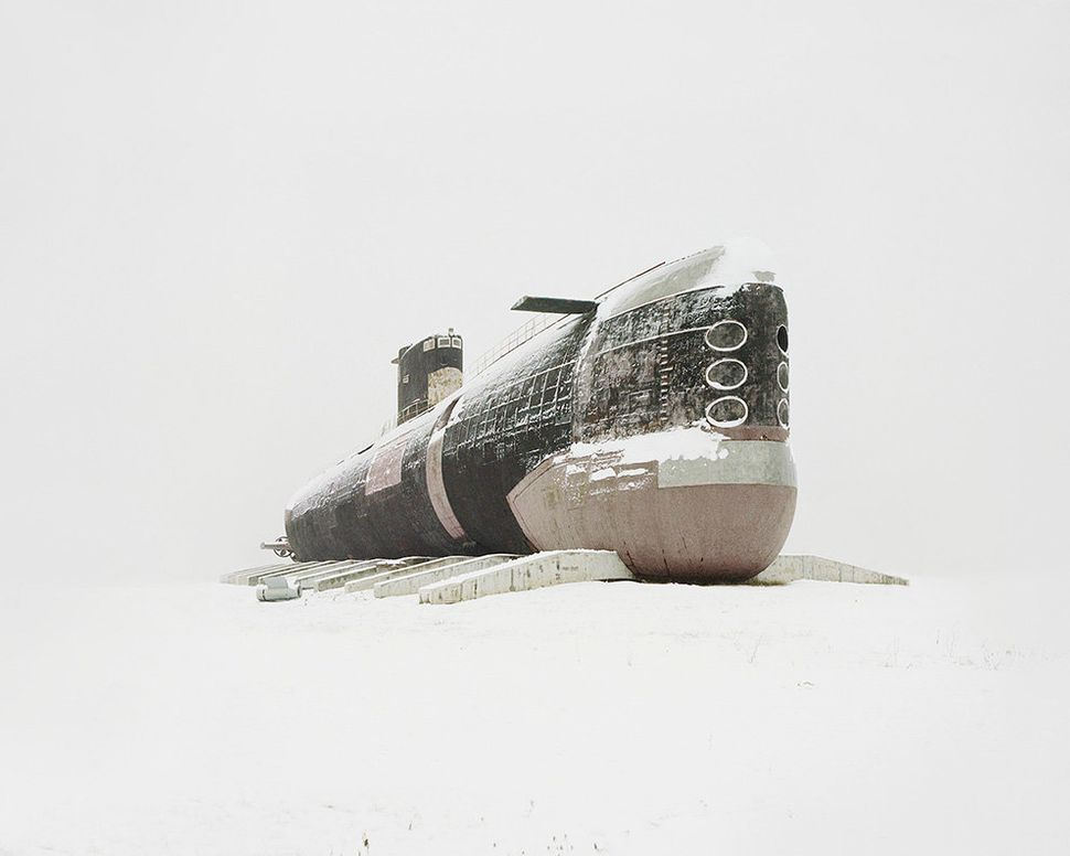 The world's largest diesel submarine.
