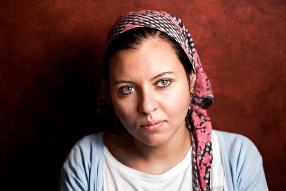 During Egyptians protests in 2011, Sondos Shabayek says she experienced moments when she had to be more courageous than