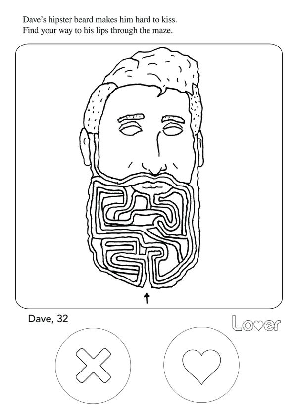 An Adult Coloring Book Just Made Online Dating Way More Fun | HuffPost