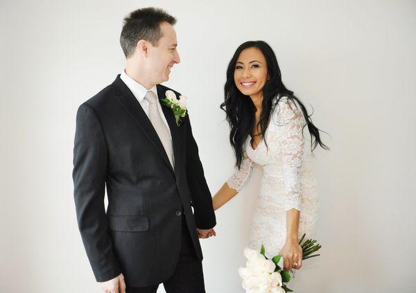 """Hani andPaul eloped in Charlotte, North Carolina on January 21."" -Tonya Russ Price"