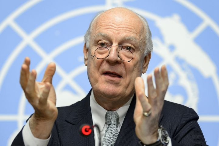 UN Syria envoy Staffan De Mistura announced talks on ending the Syrian civil war will begin on Friday and last for six months