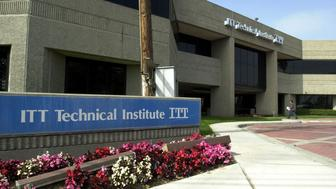 UNITED STATES - MARCH 15:  This is the campus of ITT Technical Institute in Anaheim, California, Monday, March 15, 2004. Eight officials at ITT Educational Services Inc. sold more than $27 million of stock in the 17 months between the time the technical school operator learned of a California attorney general's investigation into its practices and its first disclosure of the probe to investors last week.  (Photo by Susan Goldman/Bloomberg via Getty Images)