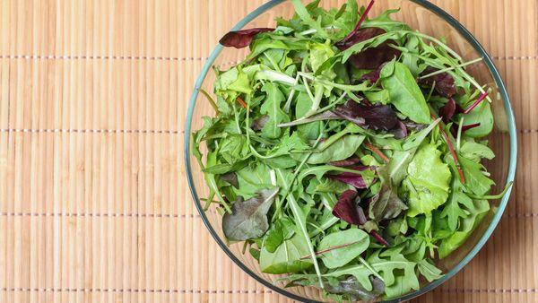 <strong>We're talking about: </strong>Mesclun <br><strong>Why you should eat more of it:</strong> Plants' unique combination