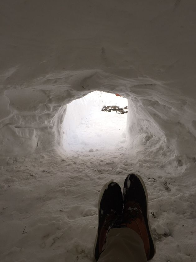 雪が降ったから民泊で部屋を提供するよ!→