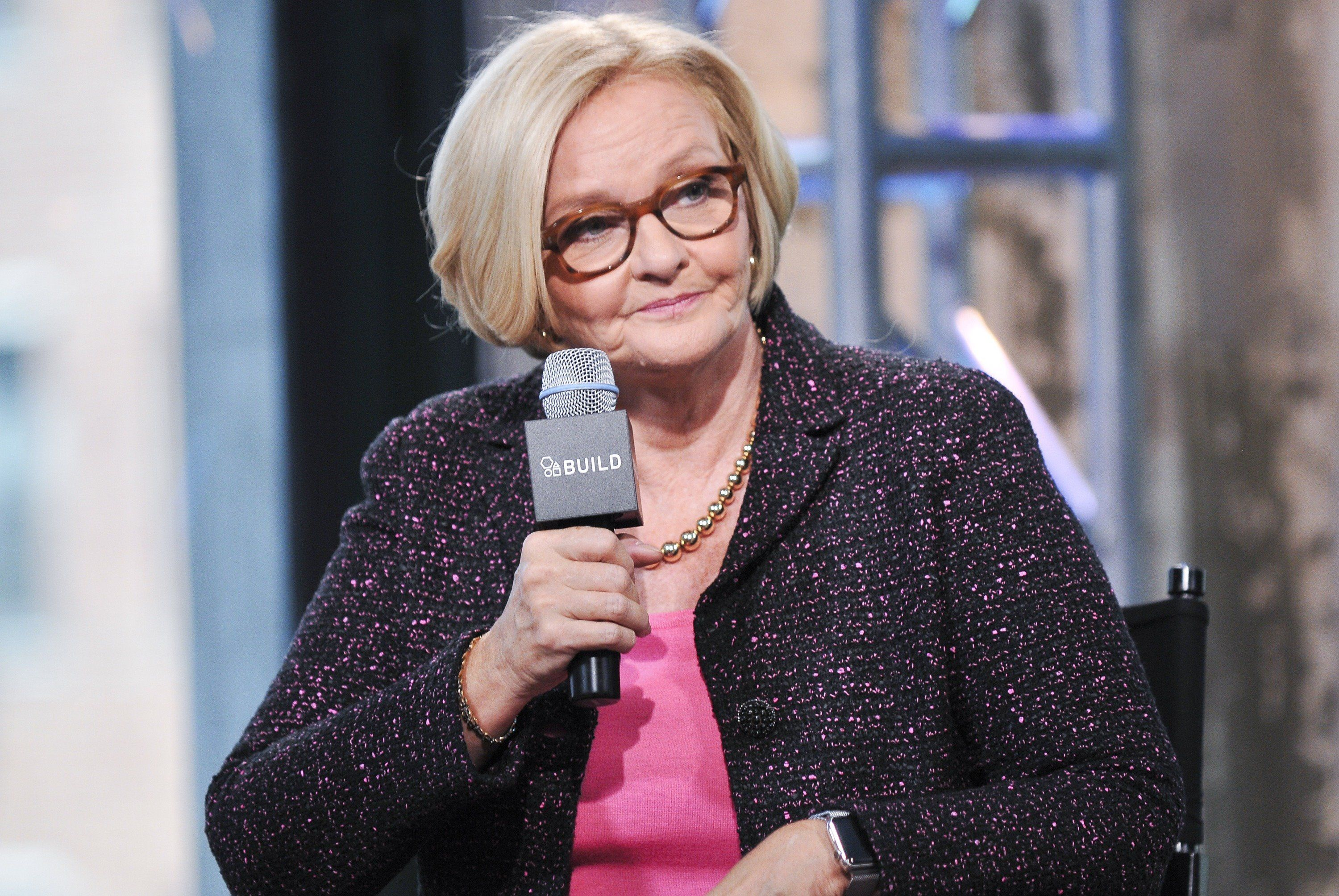 NEW YORK, NY - AUGUST 12:  U.S. Senator Claire McCaskill attends AOL Build Presents 'Plenty Ladylike' at AOL Studios in New York on August 12, 2015 in New York City.  (Photo by Jenny Anderson/WireImage)