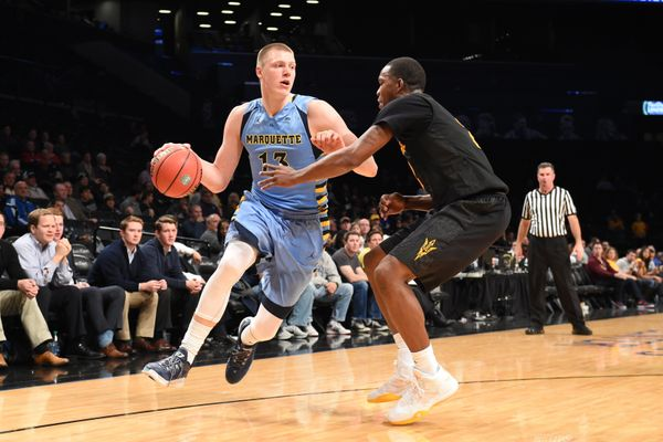 Ellenson is a double-double machine who outplayed Simmons in Marquette's November win over LSU, and hasn't exactl