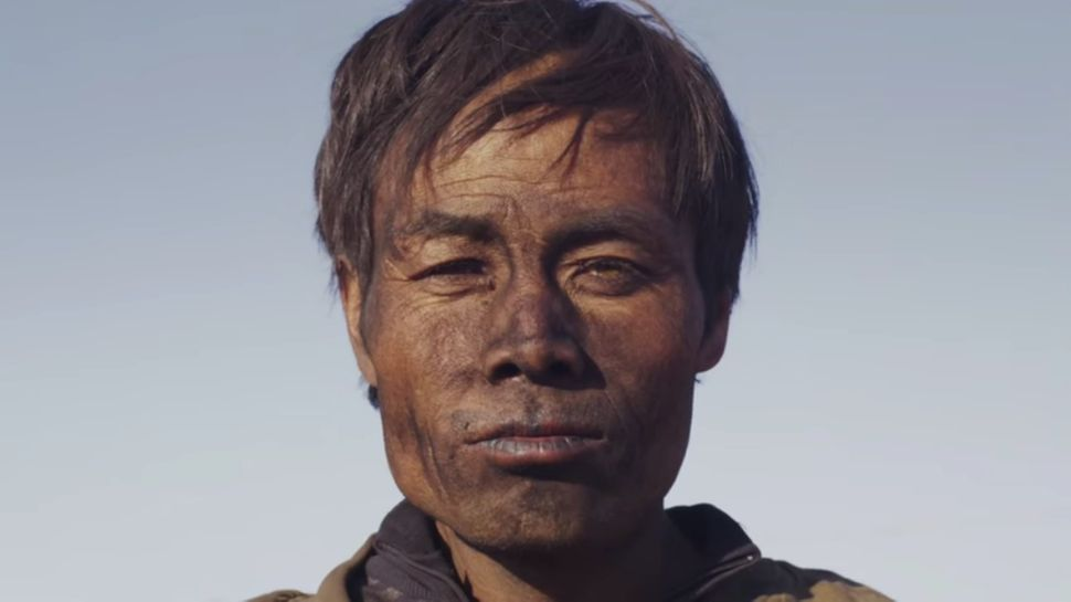 "A coal miner in Zhao Liang's documentary ""Behemoth."""
