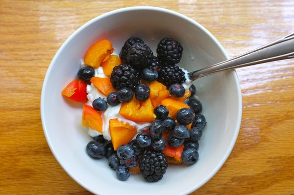"""There's no hard and fast rule that deems yogurt a breakfast food. And if there was, <a href=""""http://www.rebeccascritchfield.c"""