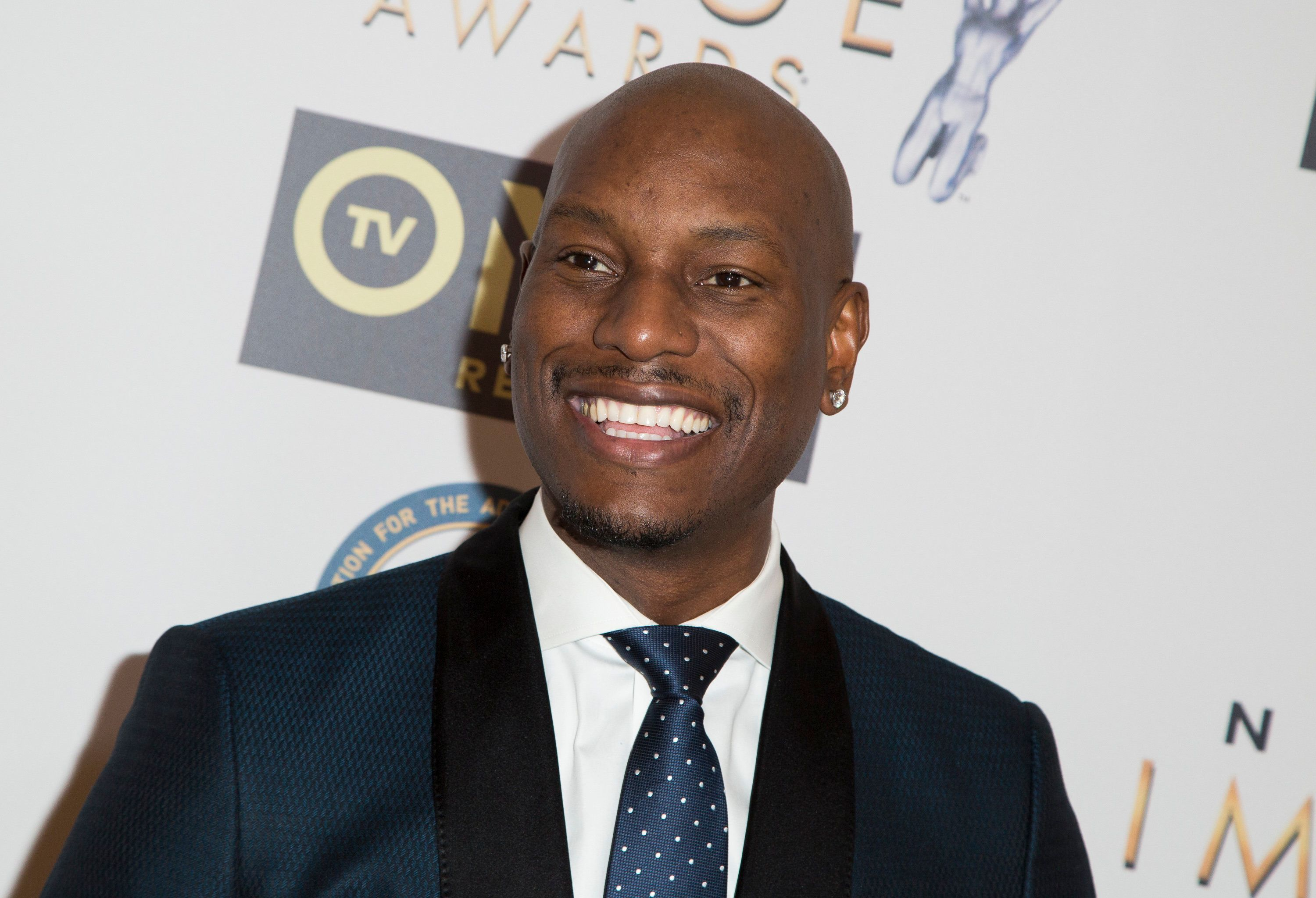 BEVERLY HILLS, CA - JANUARY 23:  Singer/Actor Tyrese Gibson attends the 47th NAACP Image Awards Nominees' luncheon at The Beverly Hilton Hotel on January 23, 2016 in Beverly Hills, California.  (Photo by Vincent Sandoval/FilmMagic)
