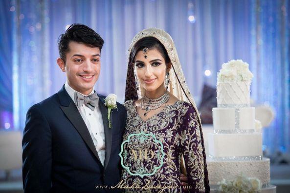 """Mahum, you planned your wedding impeccably!"" - Maha Studios"