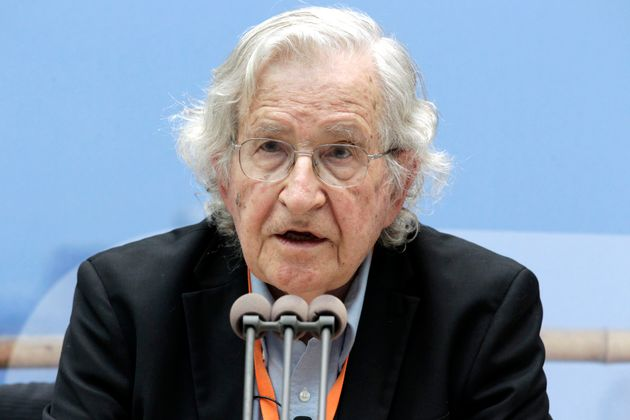 Noam Chomsky Says GOP Is 'Literally A Serious Danger To Human