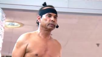 Celebrity yoga guru Bikram Choudhury